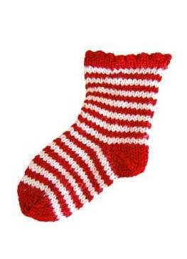 Вязаные носки для бивака