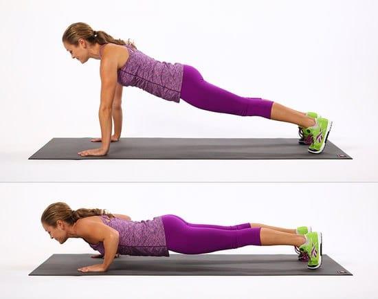 Лучший способ закачать спину - отжимания