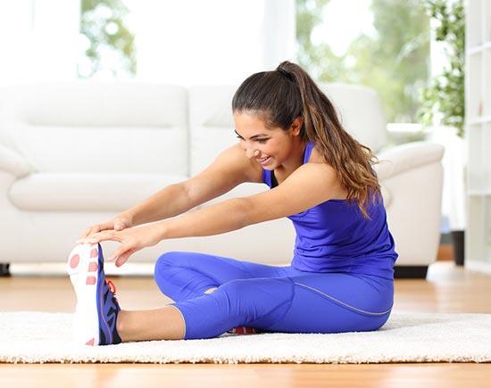 Известное упражнение для растяжки