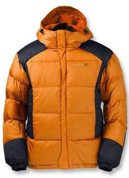 Пуховая куртка - внешний утепляющий слой