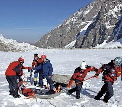 Спасательные работы в горах