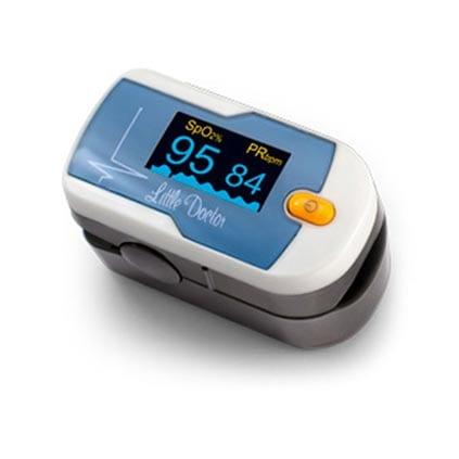 Пульсоксиметр используется для измерения уровня кислорода в крови