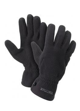 Для защиты рук от холодна необходимо иметь пару толстых флисовых перчаток