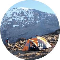 Изображение маршрута Лемошо на Килиманджаро