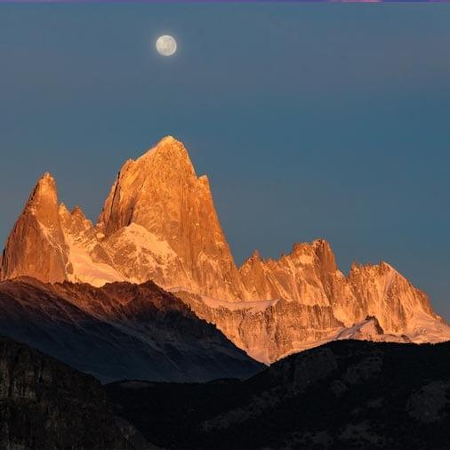 Картинка для треккинга в Андах, а именно в Патагонии