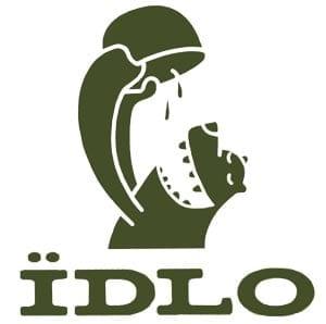 Лого украинской компании IDLO, которая делает одни из лучших сушеных продуктов