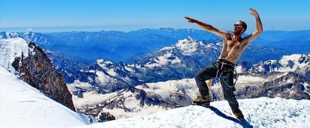 Необходимые физические данные для альпинизма