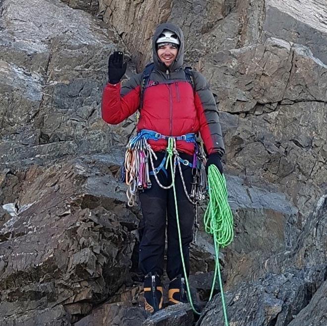 Основатель проекта APEX-mountain и гид Денис Скороход